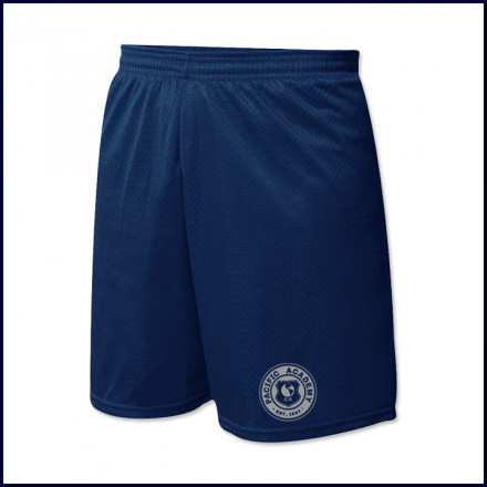 Nylon Mesh PE Shorts with School Logo