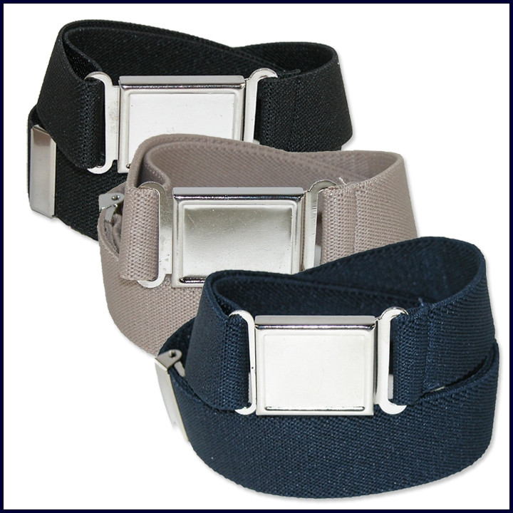 Adjustable Elastic Belts with Magnetic Buckle