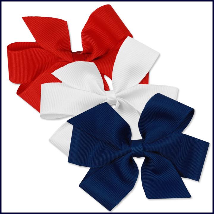 Clip-On Ribbon Bows