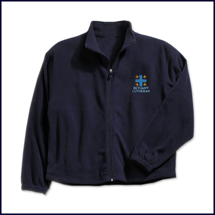 Polar Fleece Jacket with Embroidered Logo
