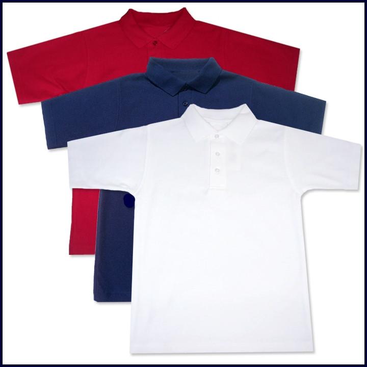 Classic Mesh Polo Shirts: Short Sleeve