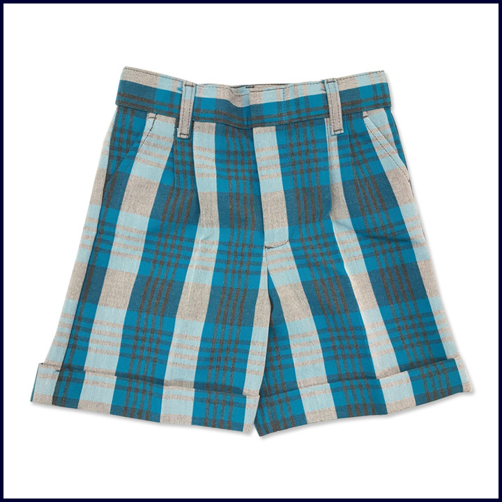 Girls Plaid Shorts