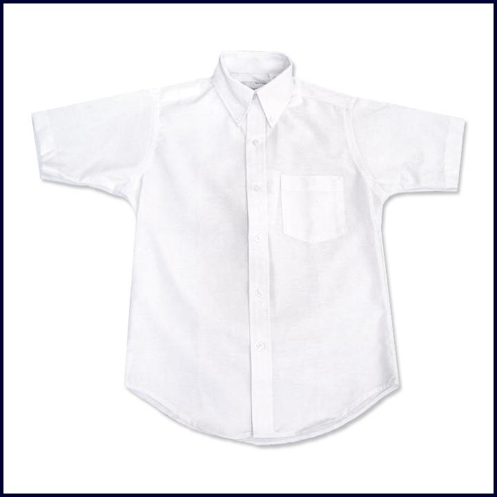 Oxford Shirt: Short Sleeve