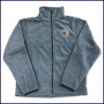 Polar Fleece Jacket with Embroidered Logo