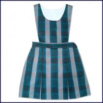 Bib Top Jumper with 2-Pleat Skirt