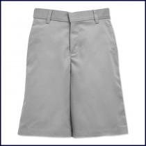 Boys Flat Front Shorts: Longer Length