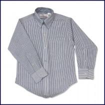 Striped Oxford Shirt: Long Sleeve