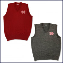 Sweater Vest with MD Embroidered Logo