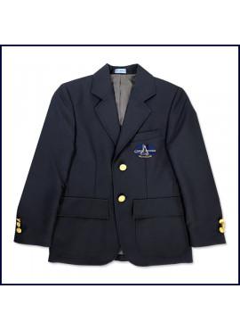 Classic Blazer with School Emblem