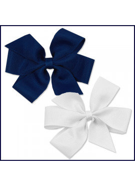 Clip-On Ribbon Hair Bow
