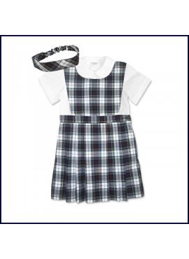 Doll Uniform Bib Top Jumper Set
