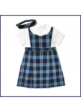 Doll Uniform Bib Top Jumper Set