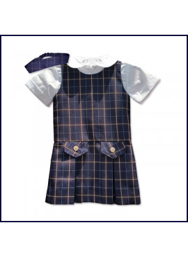 Plaid Doll Uniform Jumper Set