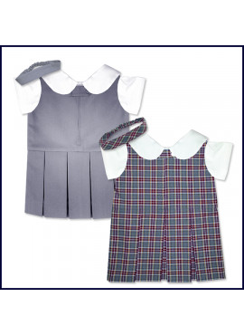 Doll Uniform Zip Front Shift Jumper Set