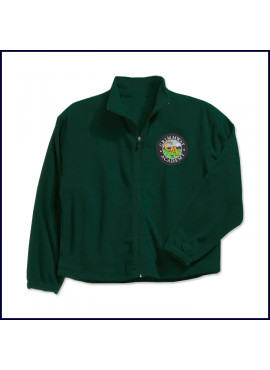 Polar Fleece Jacket with School Emblem