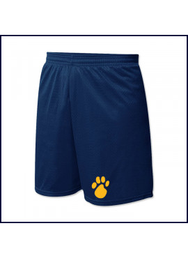 Nylon Mesh PE Shorts with Bear Paw Logo