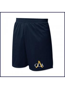 Nylon Mesh PE Shorts with School Logo