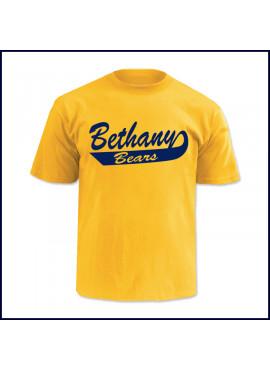 PE T-Shirt with Large Bethany Bears Logo