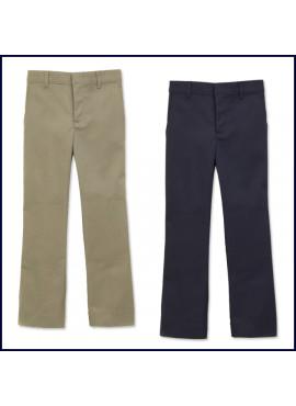 Boys Flat Front Pants