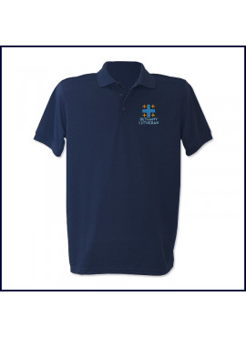 Unisex Staff Performance Polo Shirt: Short Sleeve with Embroidered Logo