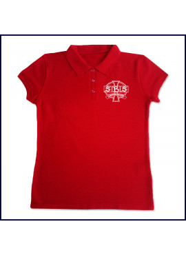 Ladies Spirit Polo Shirt: SS with School Logo
