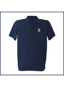 Tall Performance Polo Shirt: Short Sleeve with SJB Embroidered Logo