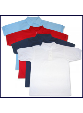 Classic Jersey Polo Shirt: Short Sleeve