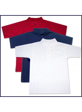Classic Mesh Polo Shirt: Short Sleeve