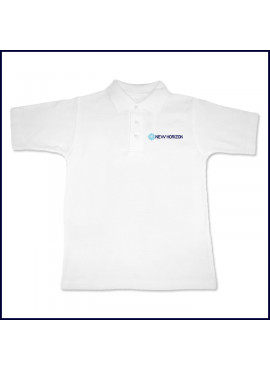 Classic Mesh Polo Shirt: Short Sleeve with Embroidered Logo
