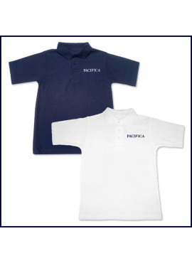 Classic Mesh Polo Shirt: Short Sleeve with PCHS Embroidered Logo