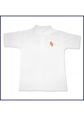 Classic Mesh Polo Shirt: Short Sleeve with SJ Embroidered Logo