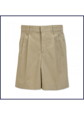 Boys Pleated Shorts