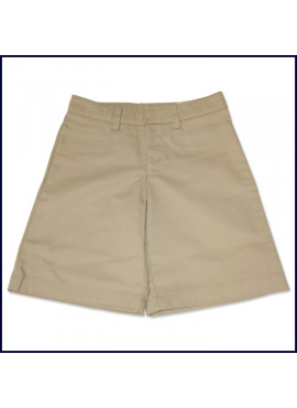 Girls Flat Front Shorts