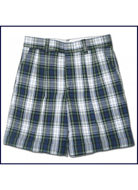 Girls Plaid Shorts