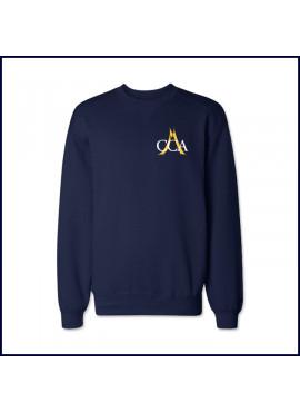 Crew Neck Sweatshirts with School Logo