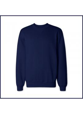 Crew Neck Sweatshirt with School Logo
