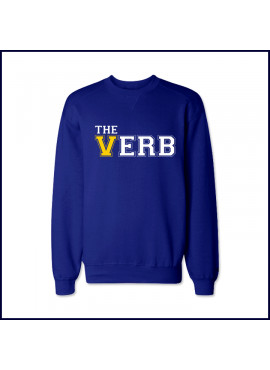 Verbum Dei Crew Neck Sweatshirt with Large The Verb Logo