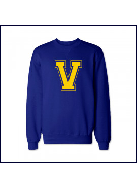 Verbum Dei Crew Neck Sweatshirt with Large V Logo