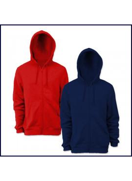 Hooded Zip Front Sweatshirt