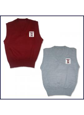Sweater Vest with School Emblem