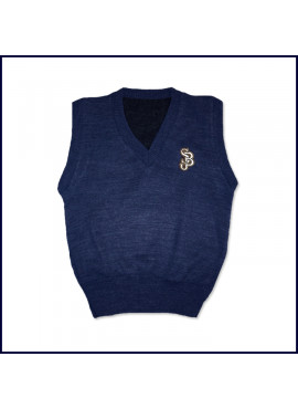 Sweater Vest with SJB Embroidered Logo