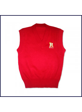 Sweater Vest with Embroidered Logo