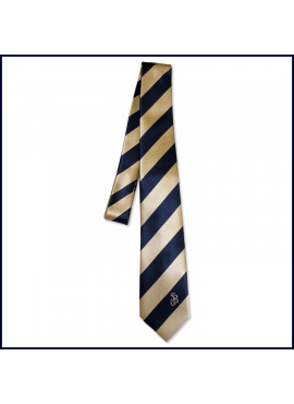 Self ~ Four-In-Hand Tie with SJB Embroidered Logo