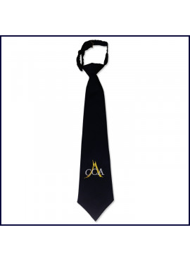 Prep Tie with CCA Embroidered Logo
