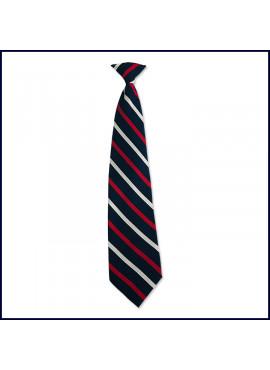 Regimental Striped Clip-On Tie