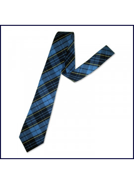 Plaid Self ~ Four-In-Hand Tie