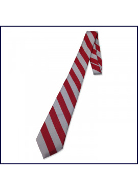 Striped Self ~ Four-In-Hand Tie