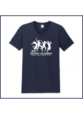Activity T-Shirt: V-Neck with Large Logo