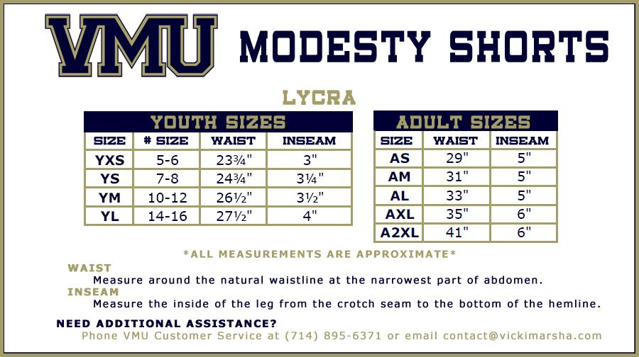 Modesty Shorts_Lycra